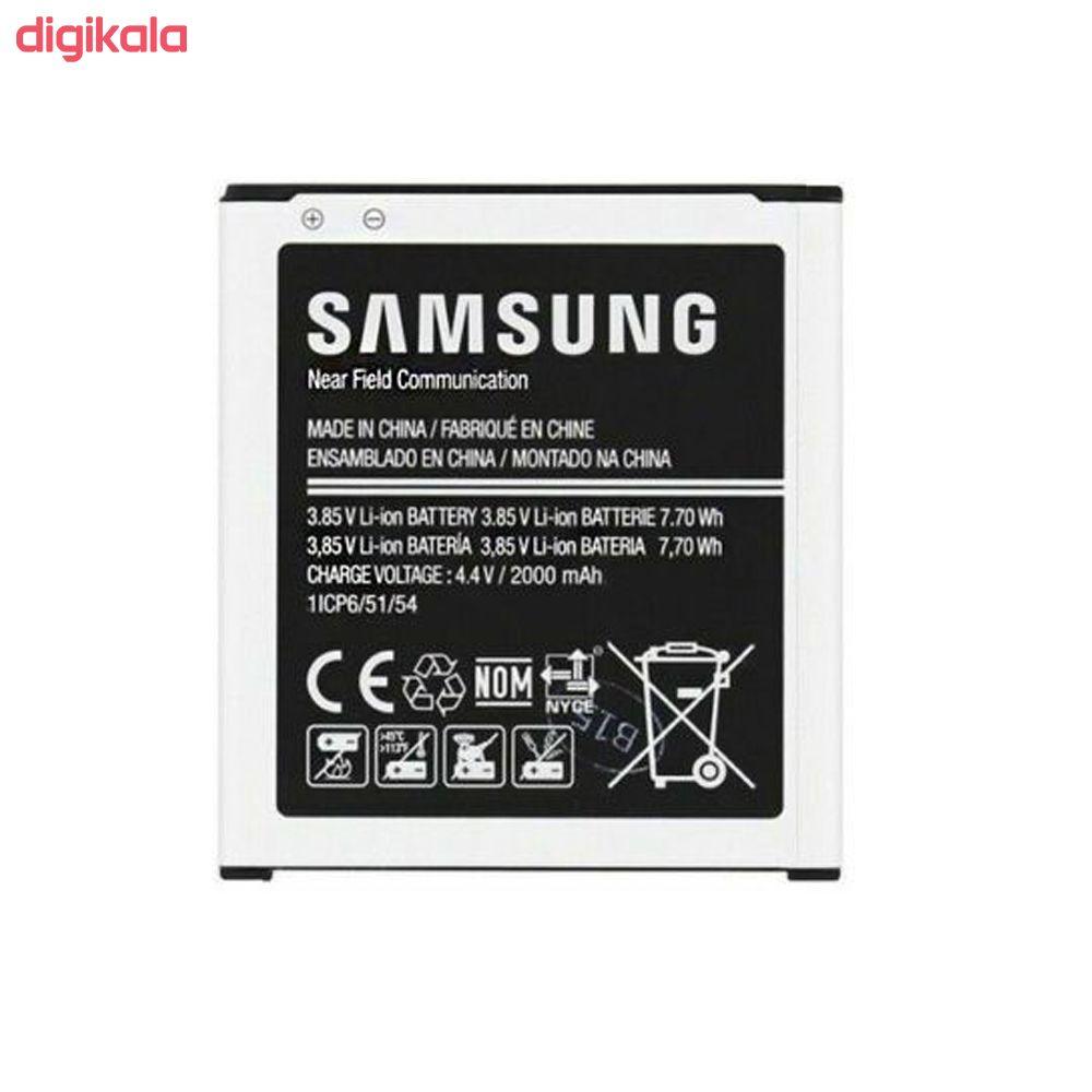 باتری موبایل مدل EB-BG360BBE ظرفیت 2000 میلی آمپر ساعت مناسب برای گوشی موبایل سامسونگ Galaxy J2  main 1 1