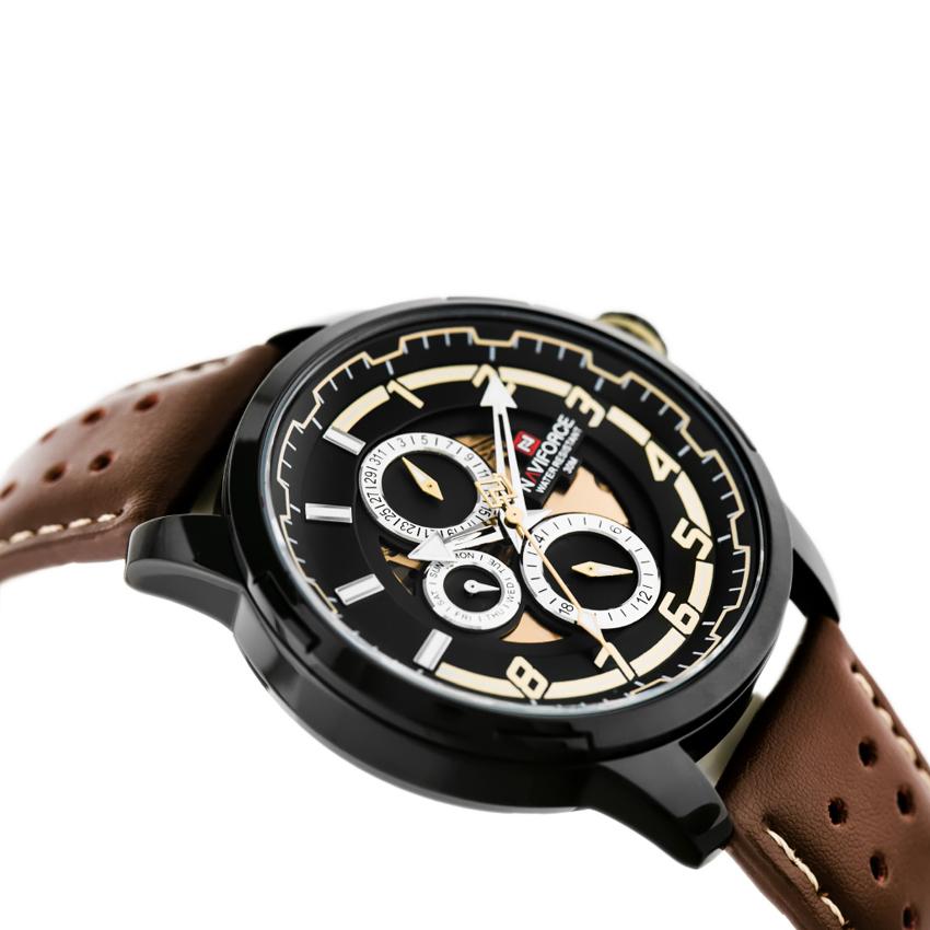 ساعت مچی عقربهای مردانه نیوی فورس مدل NF9142M -B-Y-D.BN              ارزان