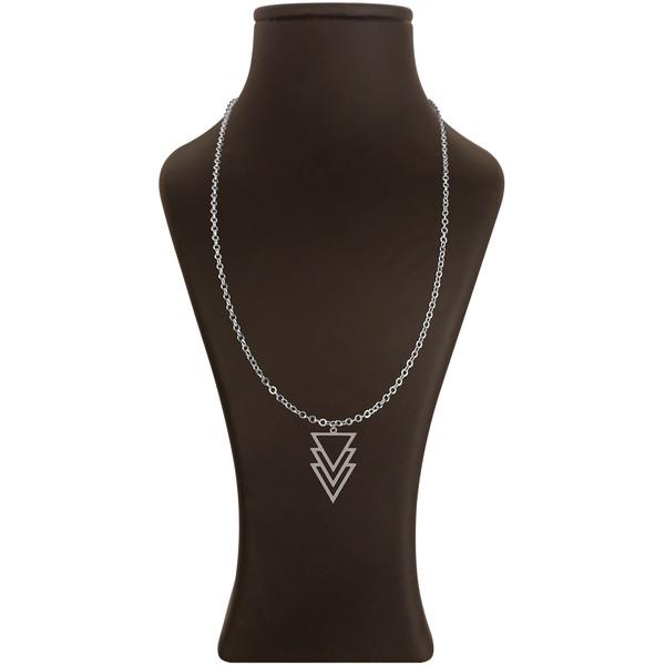 گردنبند هنرکده دارینا طرح مثلث کد SD0495