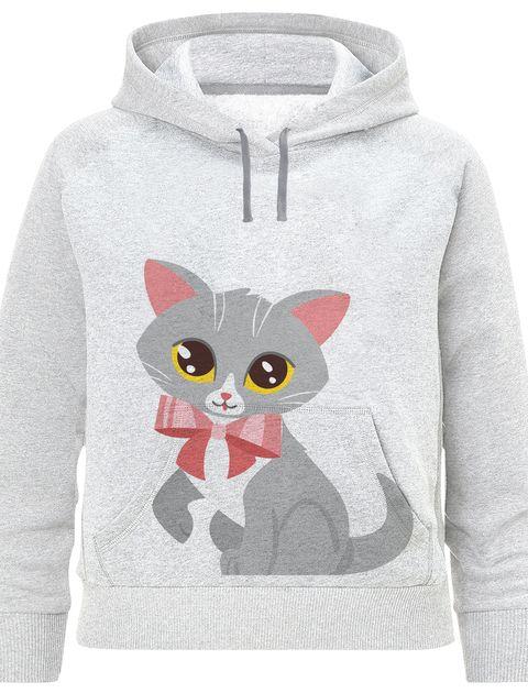 هودی پسرانه طرح گربه کد F182