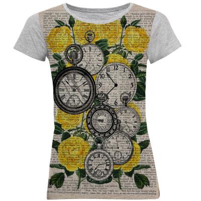 تی شرت آستین کوتاه زنانه کد M03