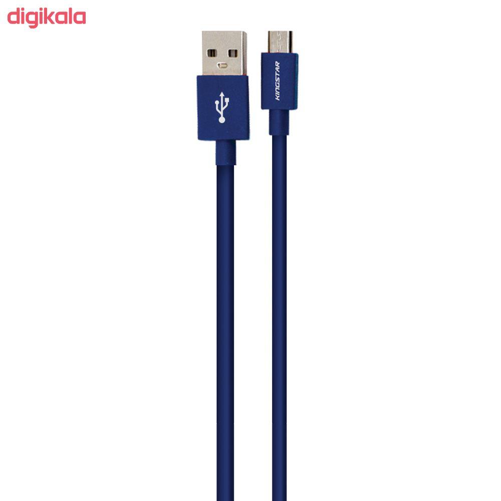 کابل تبدیل USB به microUSB کینگ استار مدل K64 A طول 1.2 متر main 1 1
