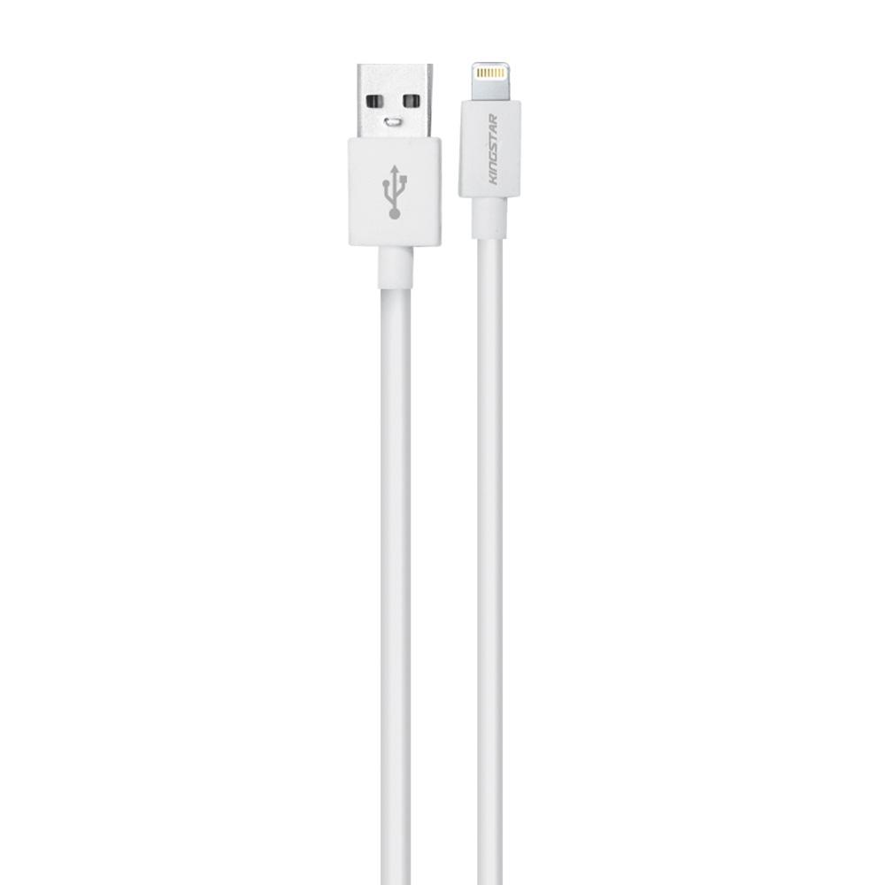 کابل تبدیل USB به لایتنینگ کینگ استار مدل k61i طول 0.25 متر