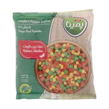 مخلوط سبزیجات منجمد پمینا مقدار 400 گرم