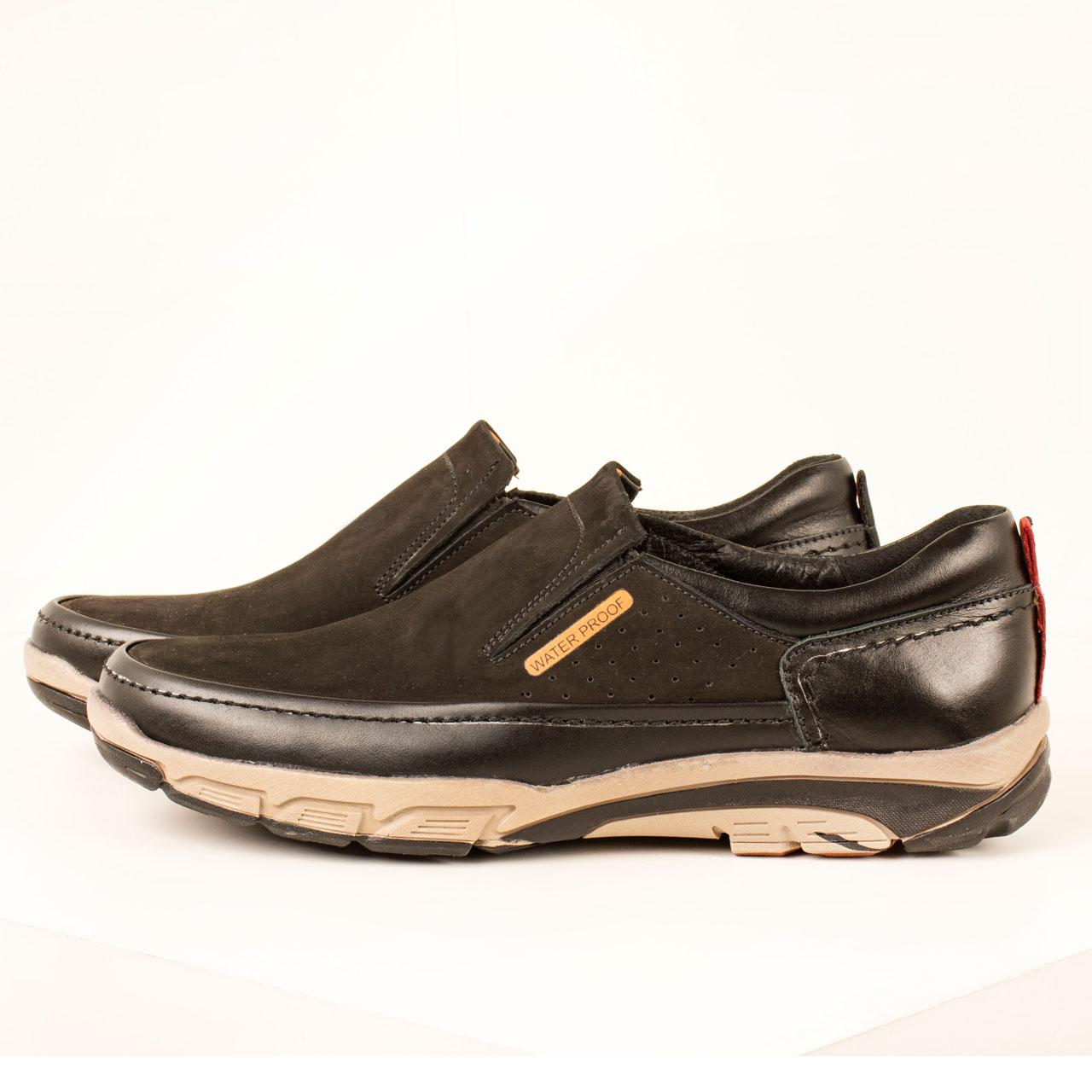 کفش روزمره مردانه پارینه چرم مدل SHO179 -  - 2