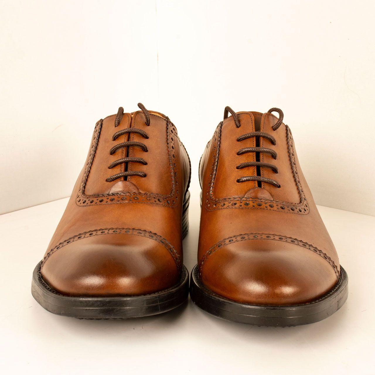کفش مردانه پارینه چرم مدل SHO182-1 -  - 4