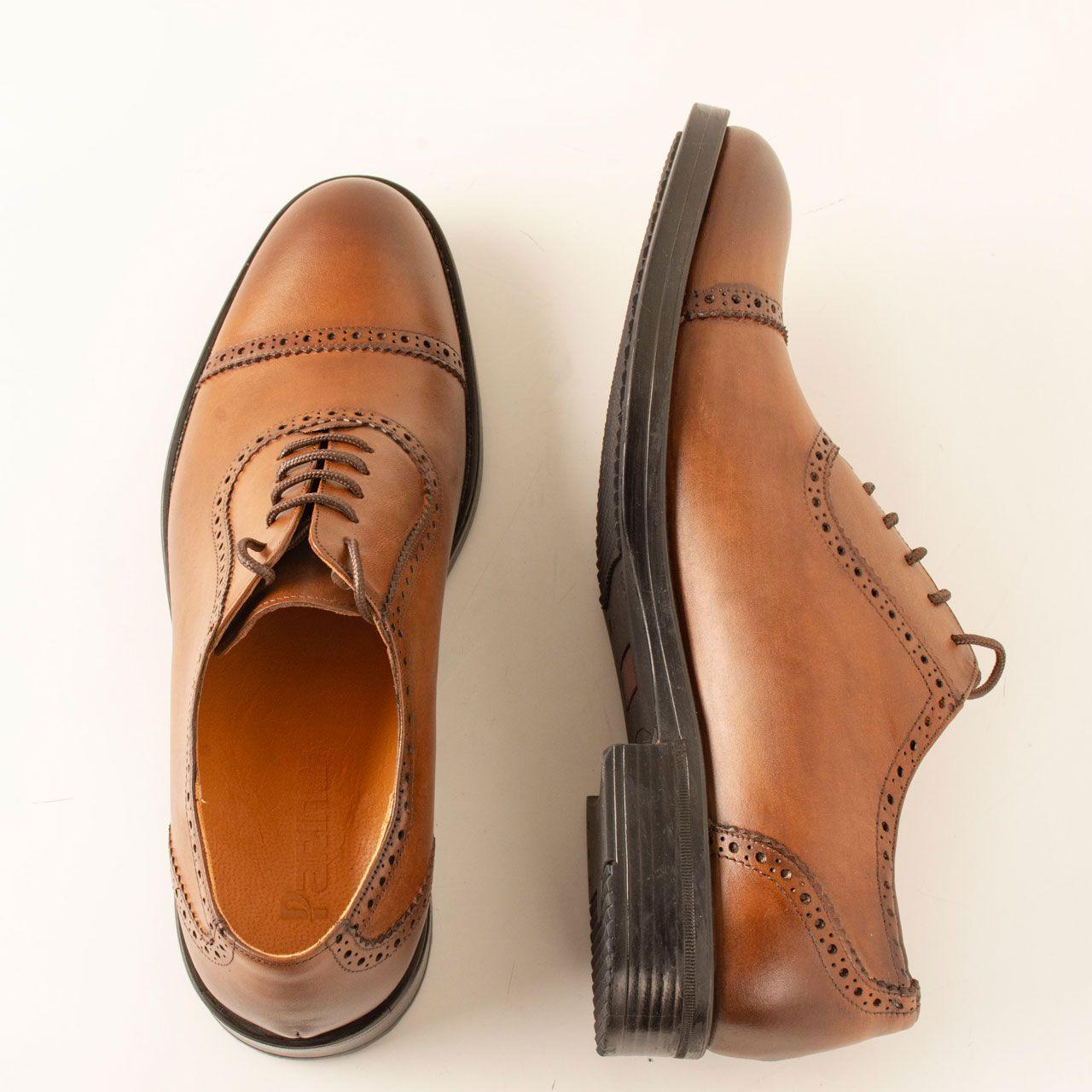 کفش مردانه پارینه چرم مدل SHO182-1 -  - 5
