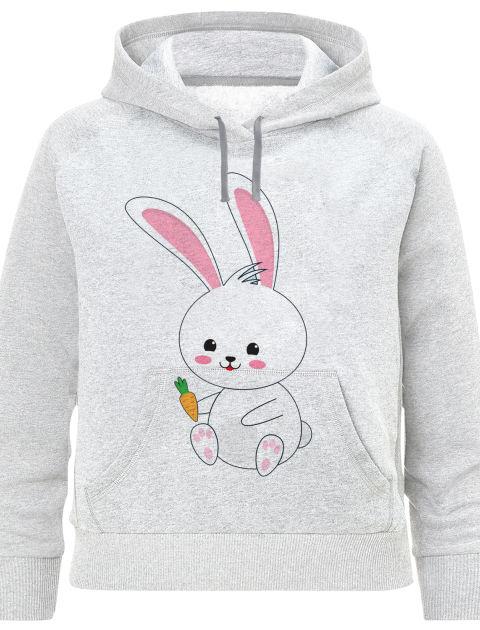 هودی دخترانه طرح خرگوش کد F424