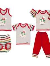 ست 5 تکه لباس نوزادی آدمک مدل Dj -  - 1