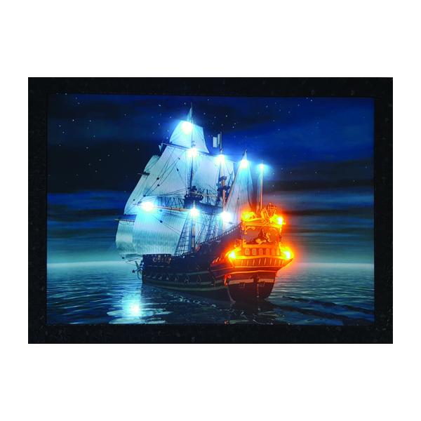 قیمت خرید تابلو نوری طرح کشتی تایتانیک کد sh-226 اورجینال