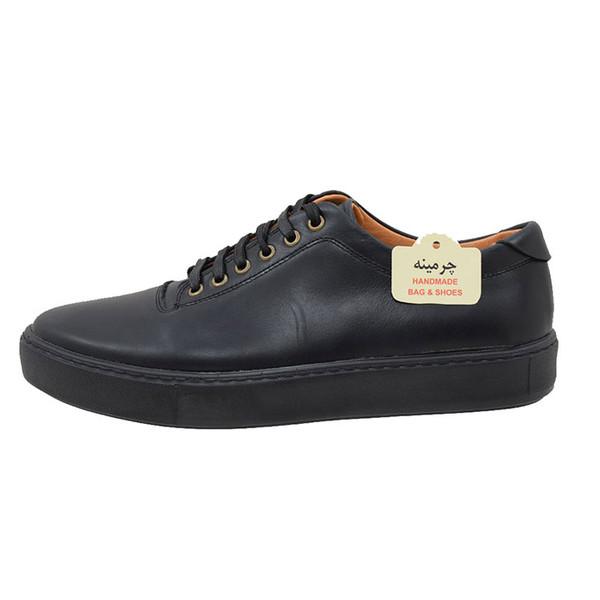 کفش  روزمره مردانه چرمینه کد 300h1