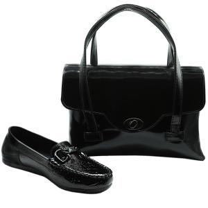 ست کیف و کفش زنانه کد 555