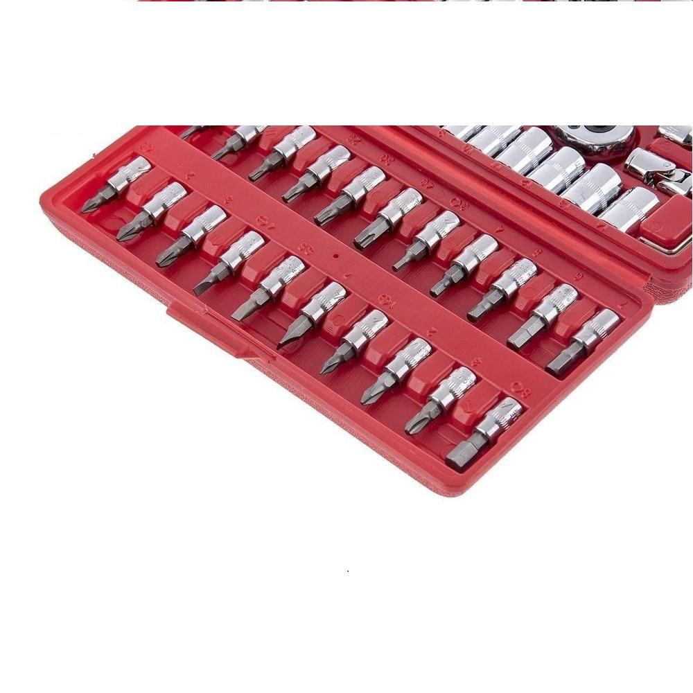 مجموعه 46 عددی آچار بکس اسرانوی مدل A1-X04605