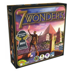 بازی فکری مدل 7wonders