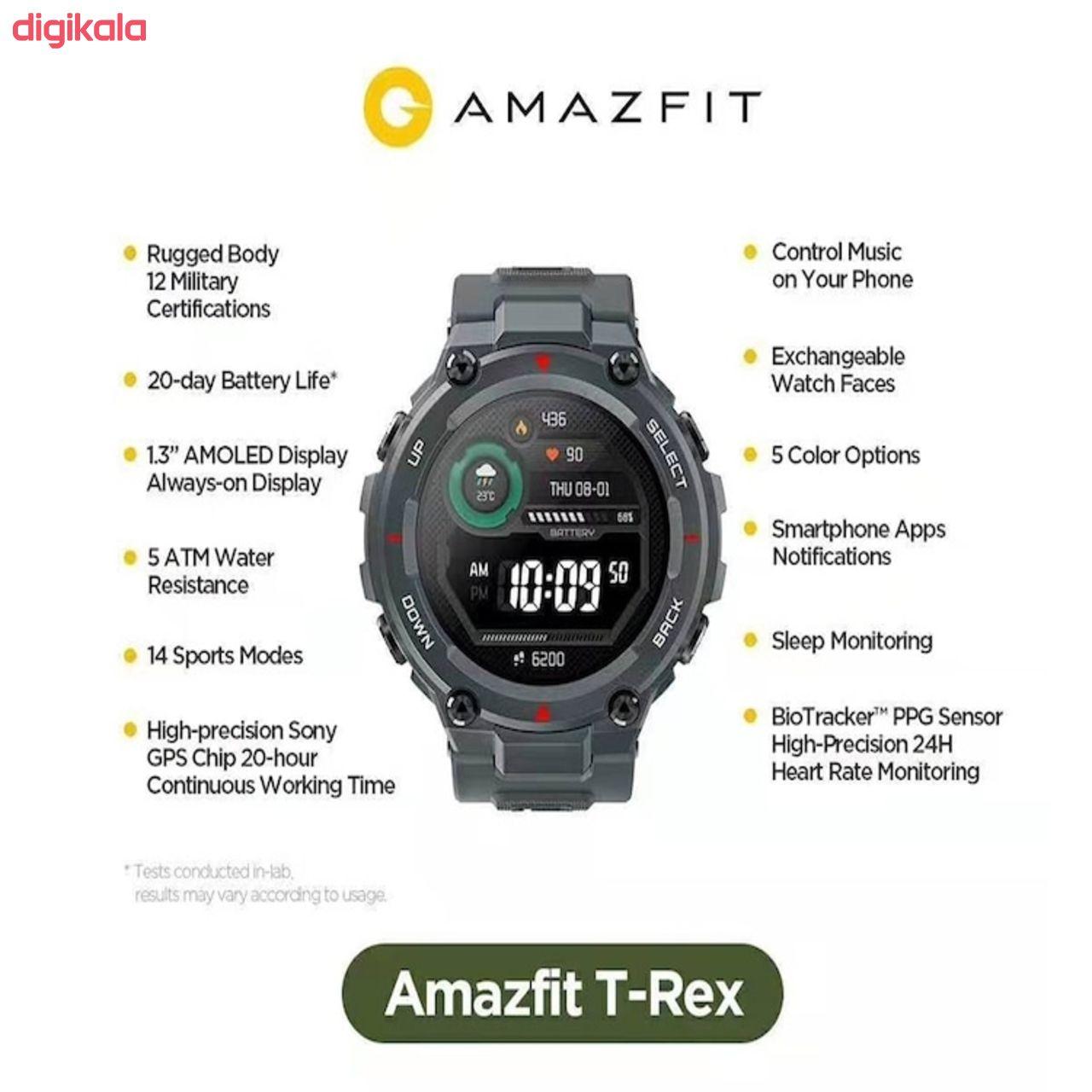 ساعت هوشمند امیزفیت مدل T-Rex main 1 11