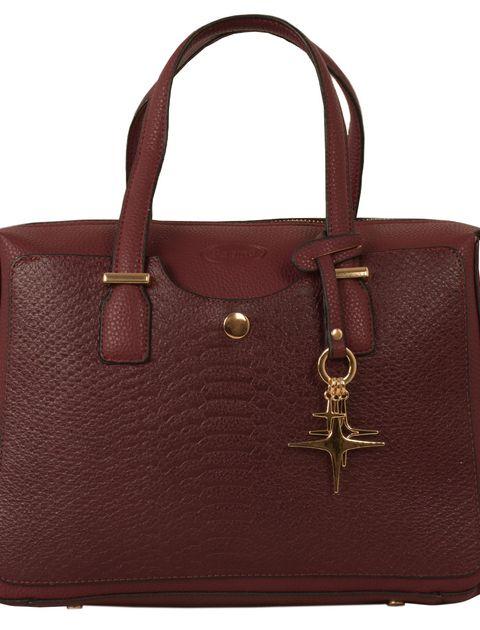 کیف دستی زنانه پارینه چرم کد PLV202-12-1516