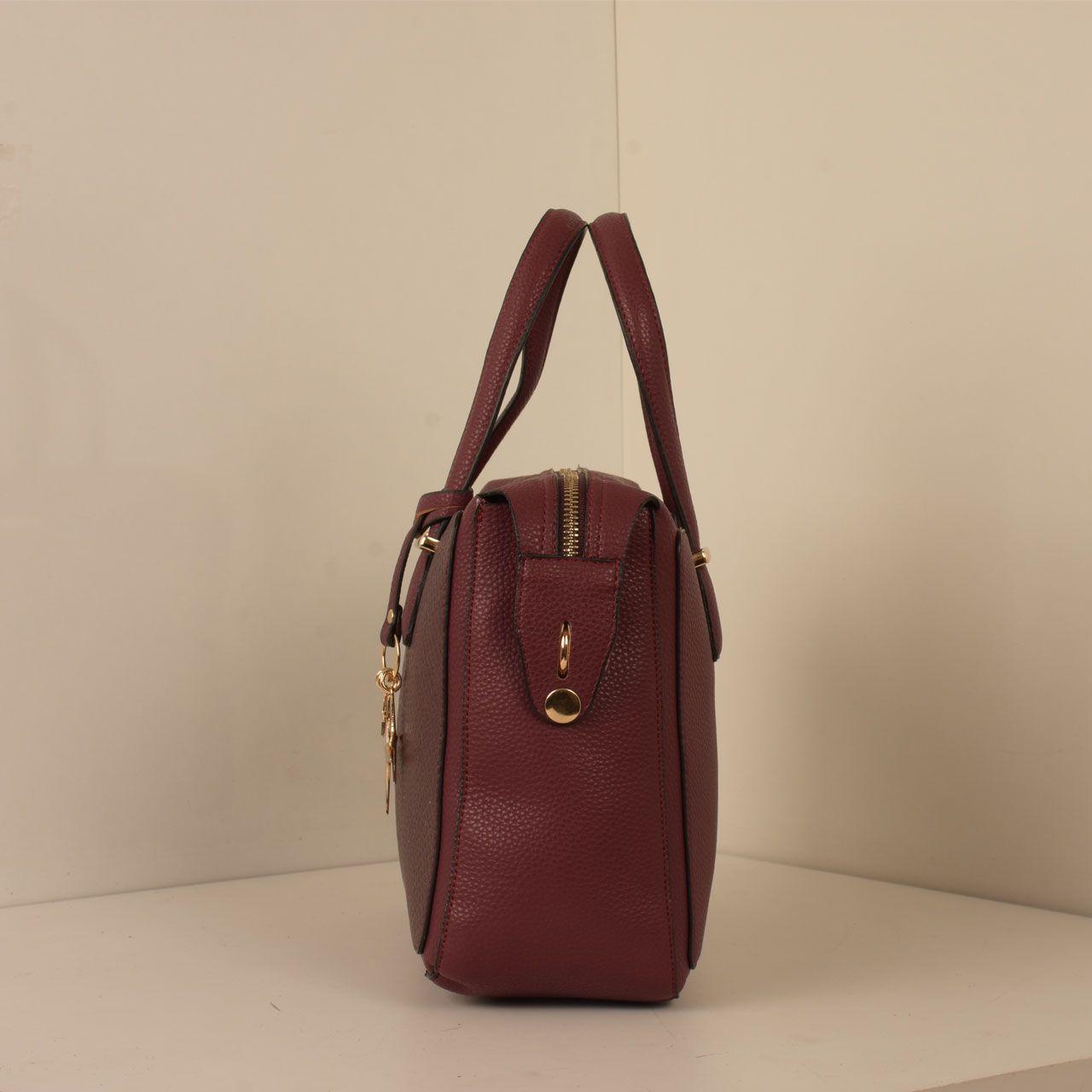 کیف دستی زنانه پارینه چرم کد PLV202-12-1516 -  - 3