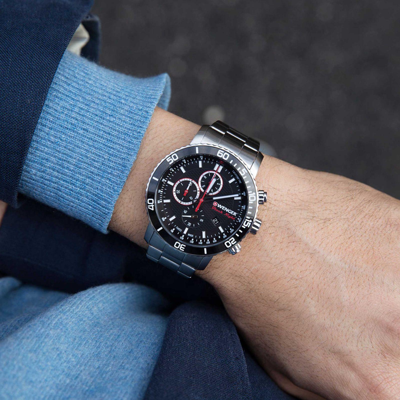ساعت مچی عقربه ای مردانه ونگر مدل 01.1843.106 -  - 2