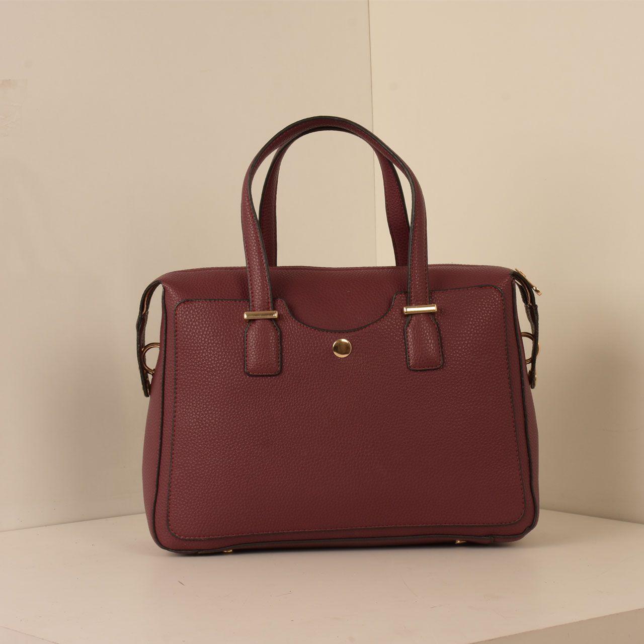 کیف دستی زنانه پارینه چرم کد PLV202-12-1516 -  - 4