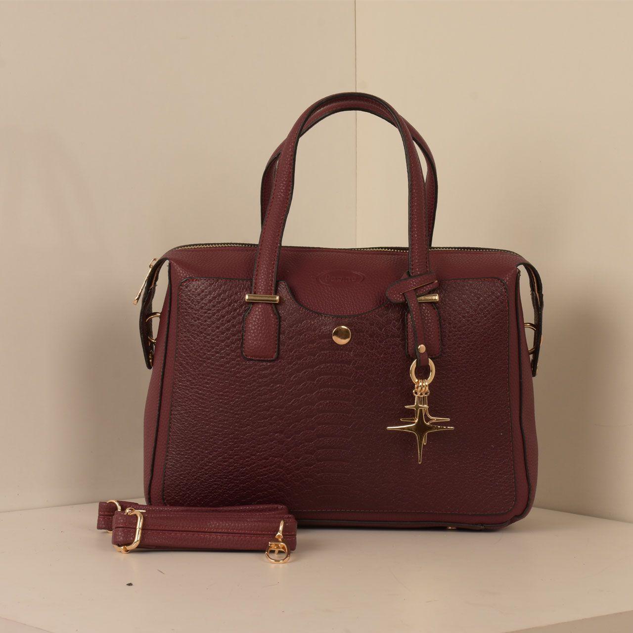 کیف دستی زنانه پارینه چرم کد PLV202-12-1516 -  - 7
