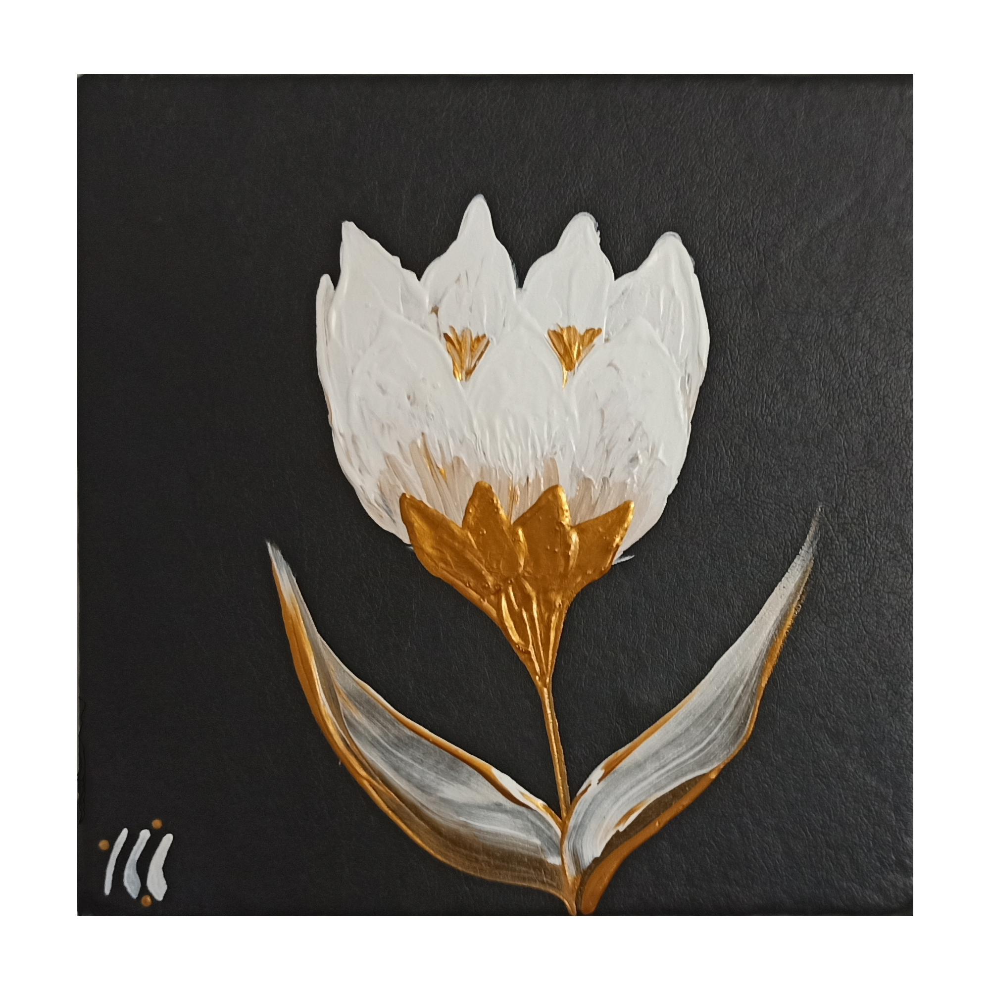 Photo of تابلو نقاشی رنگ روغن طرح گل کد 20