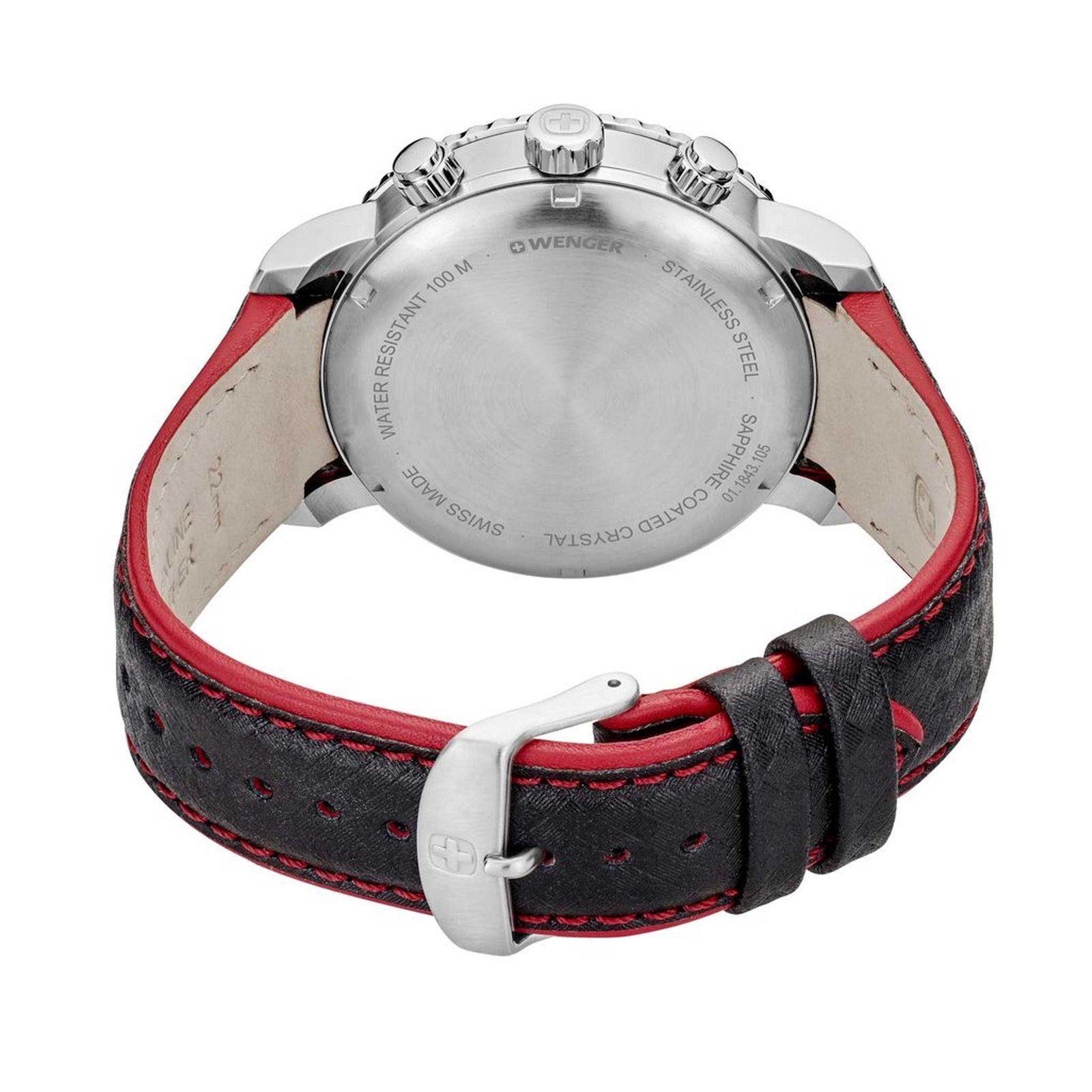 ساعت مچی عقربه ای مردانه ونگر مدل 01.1843.105 -  - 5