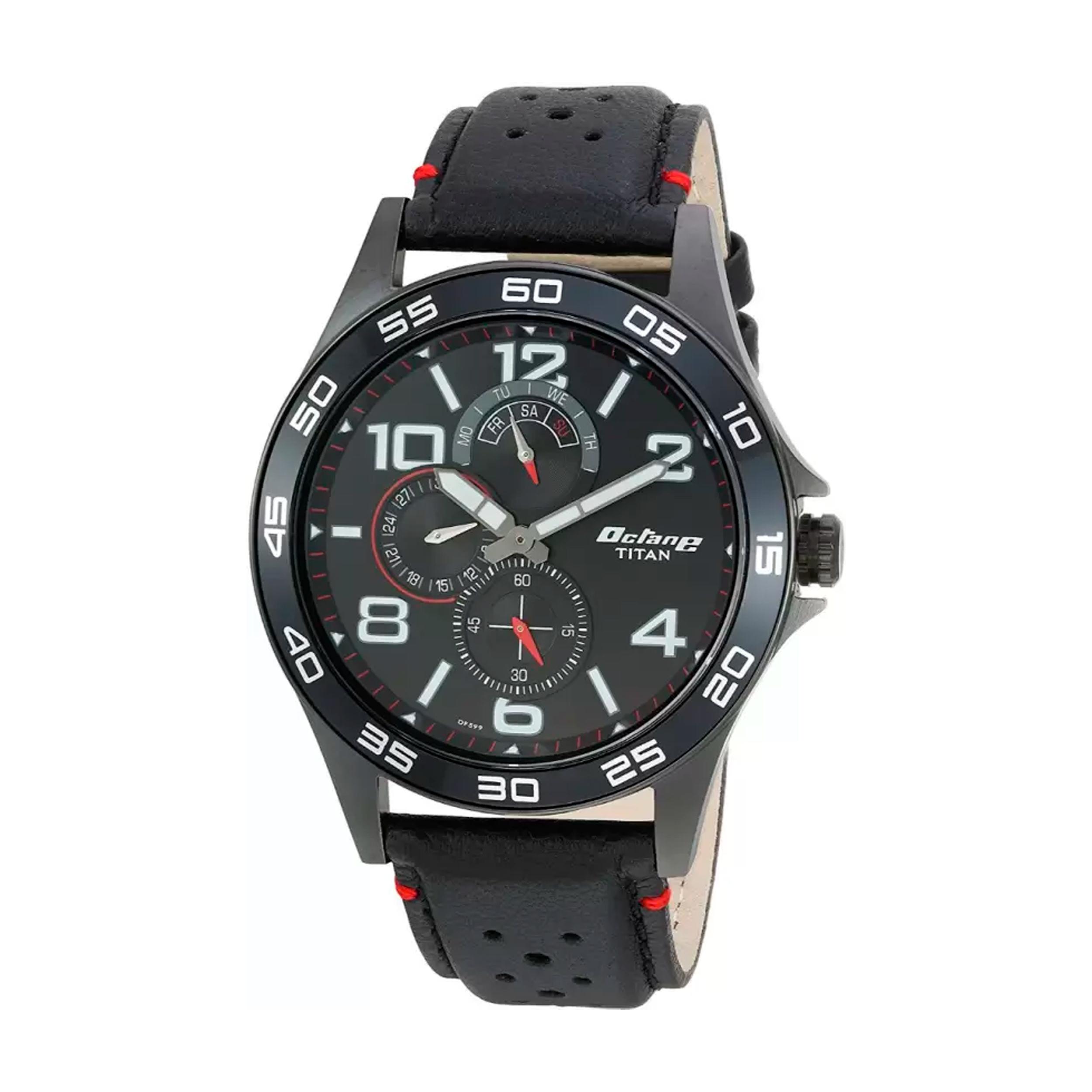 ساعت مچی عقربه ای مردانه تیتان مدل 1702NL01