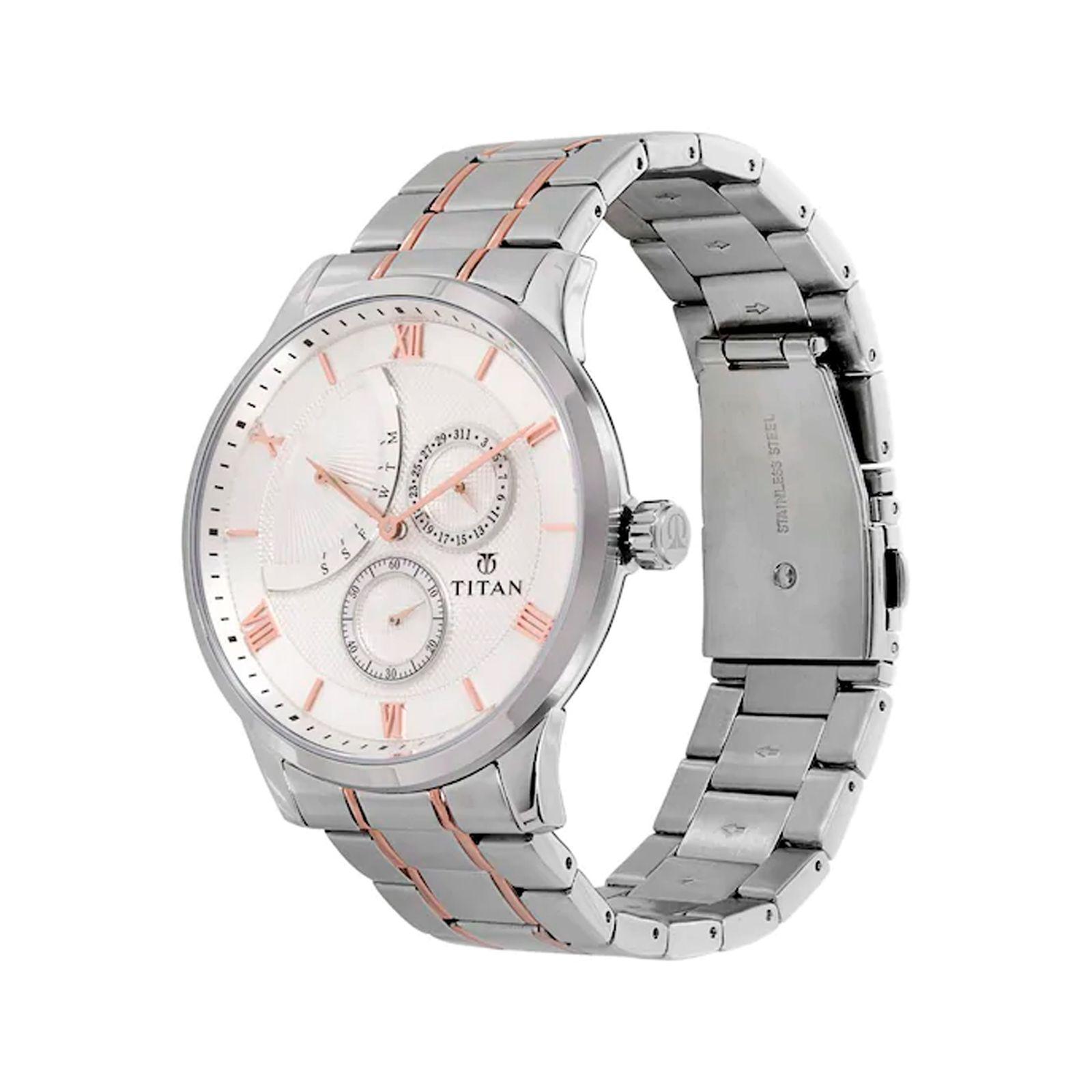 ساعت مچی عقربه ای مردانه تیتان مدل T90101KM01 -  - 2