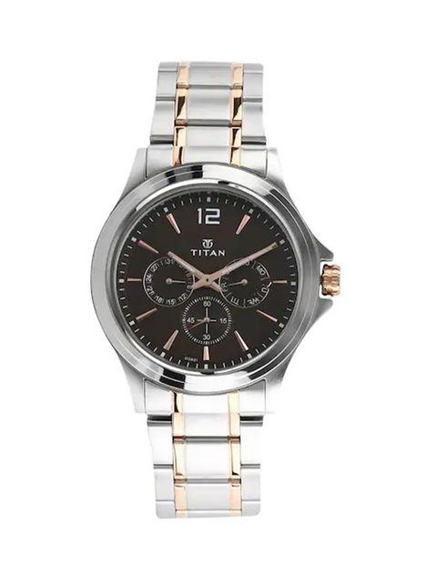 ساعت مچی عقربه ای مردانه تیتان مدل T1698KM01