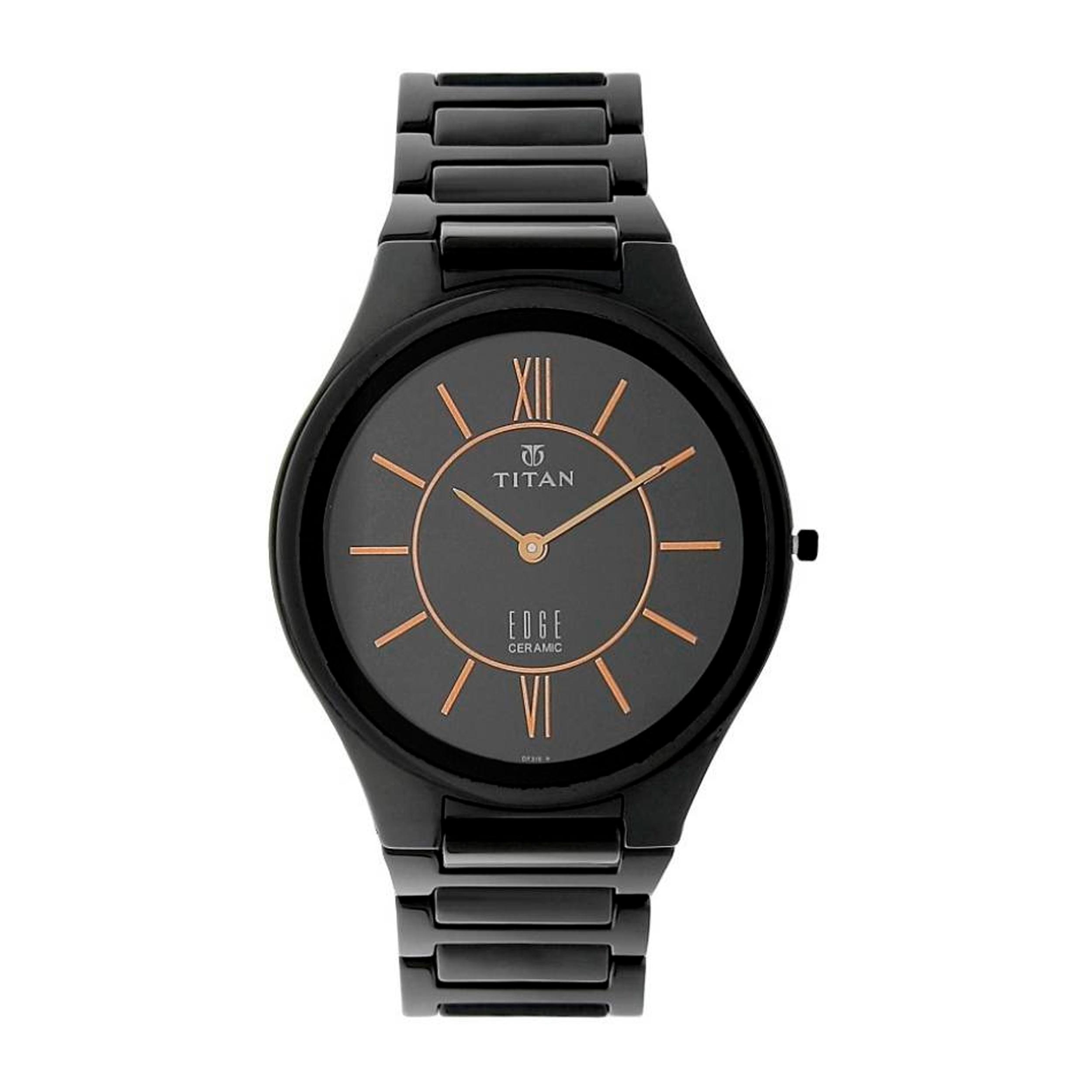 کد تخفیف                                      ساعت مچی عقربه ای مردانه تیتان مدل T1696NC01