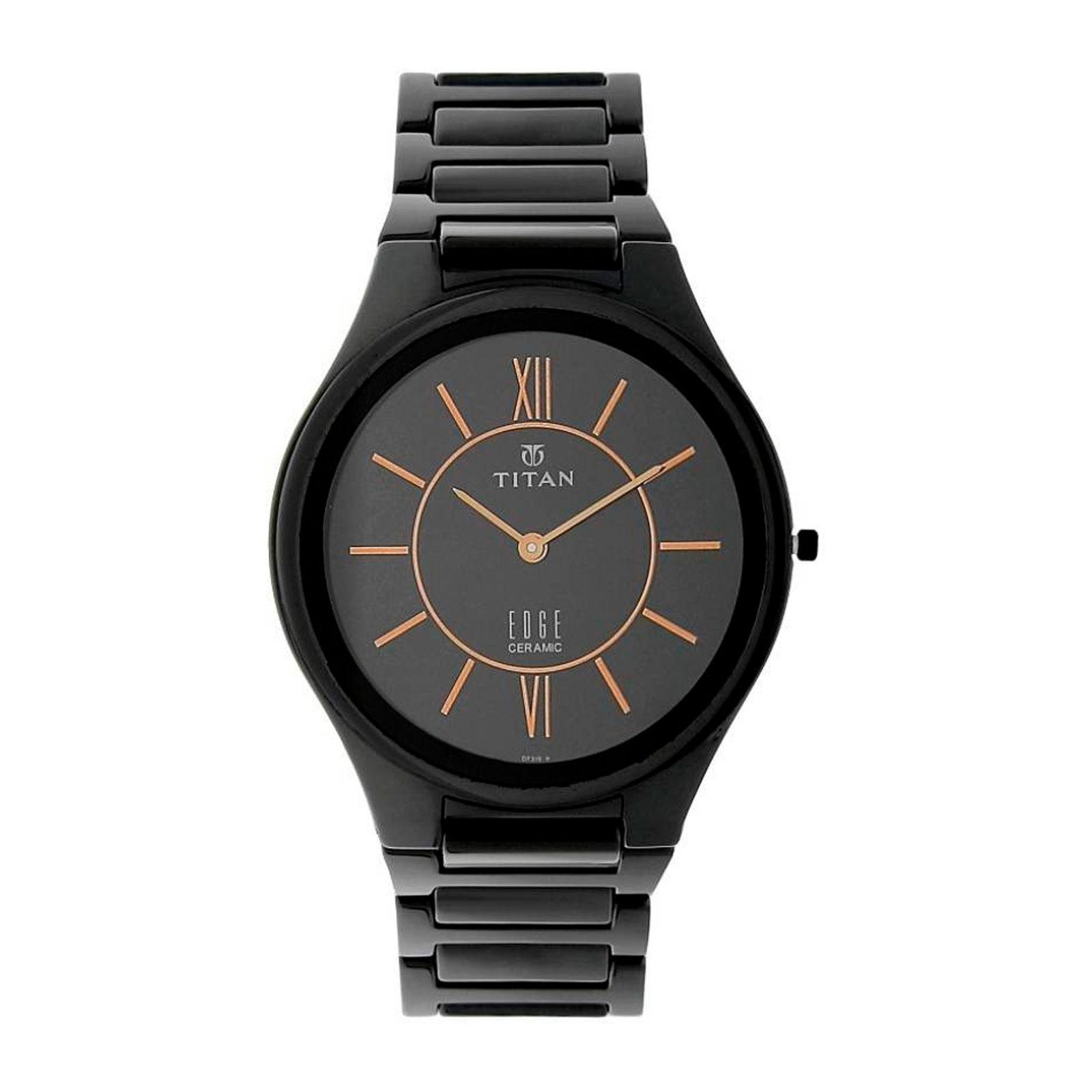ساعت مچی عقربه ای مردانه تیتان مدل T1696NC01 -  - 4