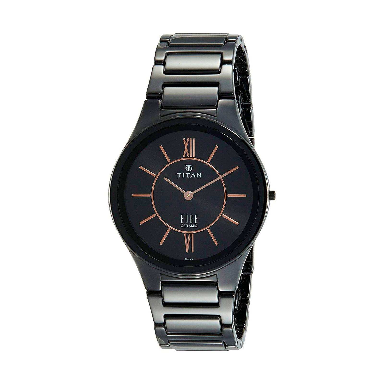ساعت مچی عقربه ای مردانه تیتان مدل T1696NC01 -  - 3