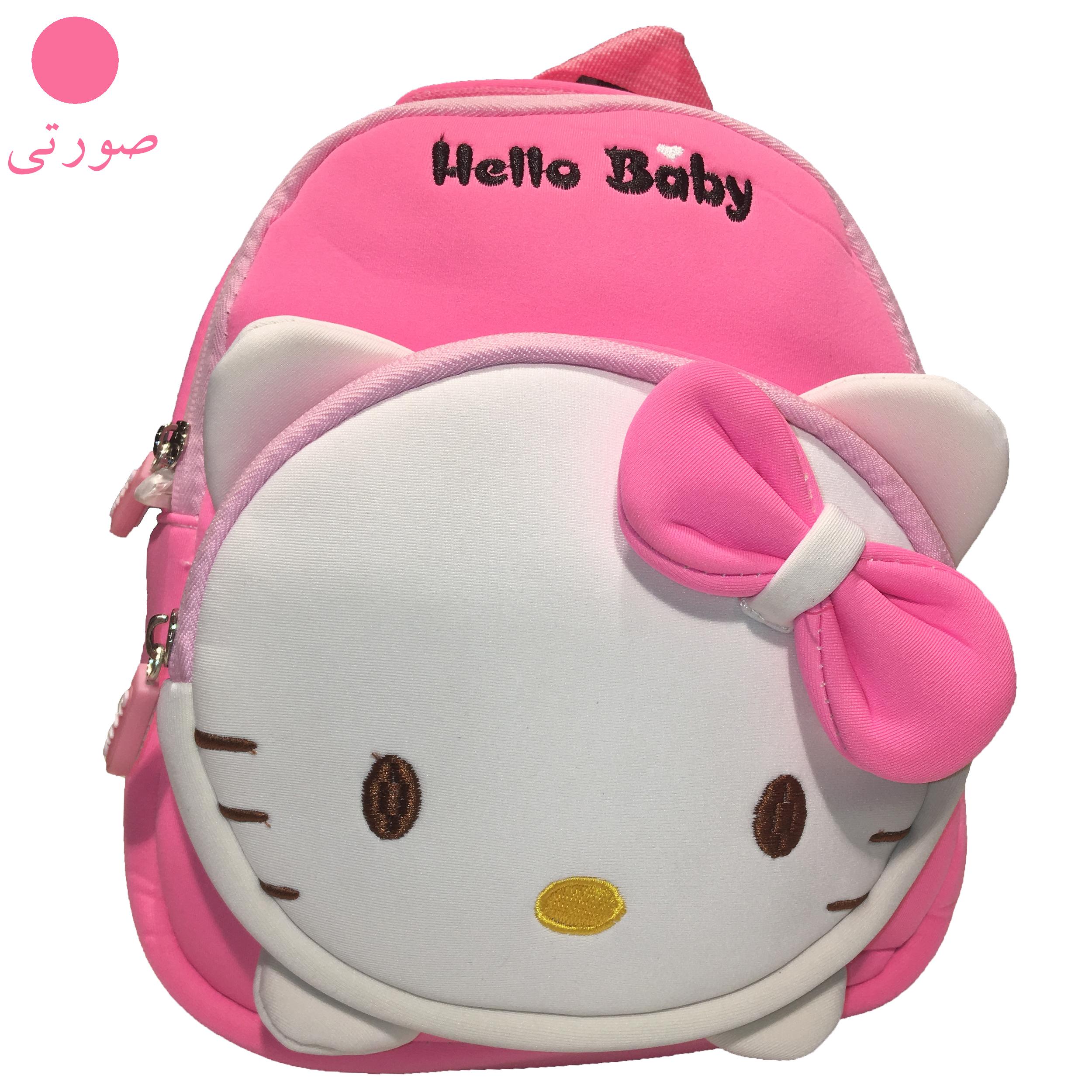 کوله پشتی دخترانه هلو بیبی کد adll3 -  - 6