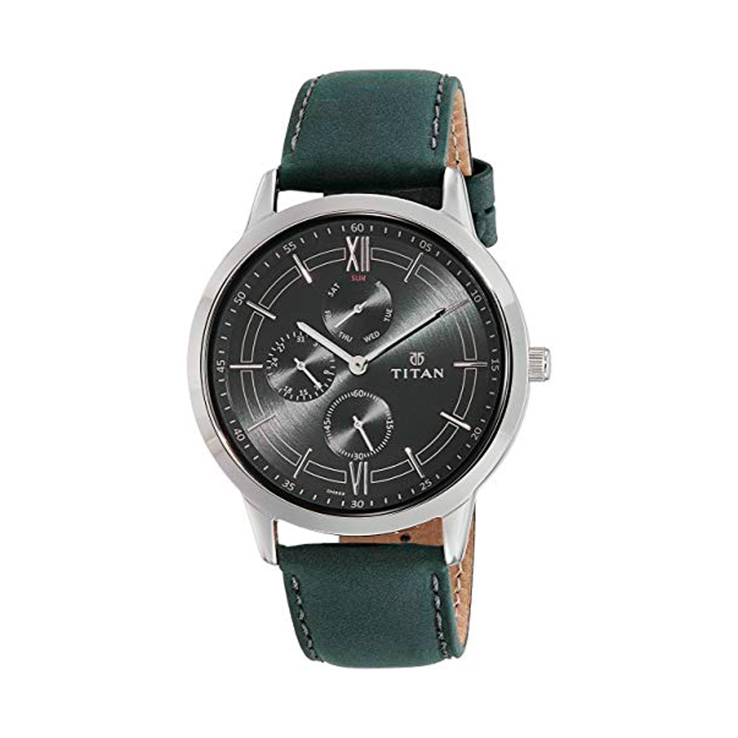 ساعت مچی عقربه ای مردانه تیتان مدل T1769SL05