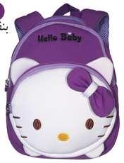 کوله پشتی دخترانه هلو بیبی کد adll3 -  - 9
