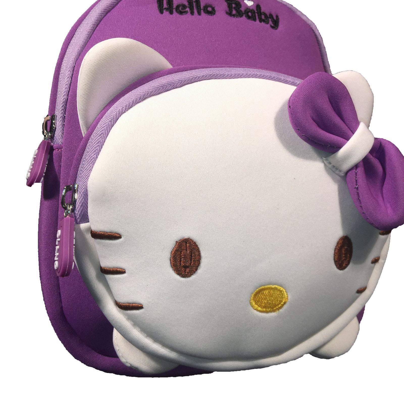کوله پشتی دخترانه هلو بیبی کد adll3 -  - 12