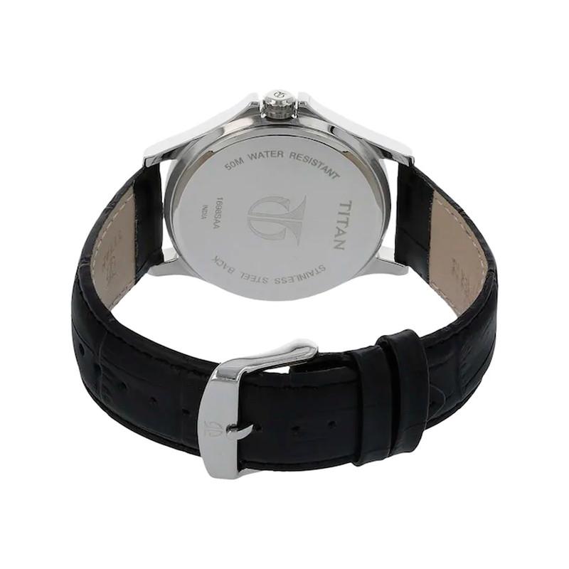 ساعت مچی عقربه ای مردانه تیتان مدل T1698SL02