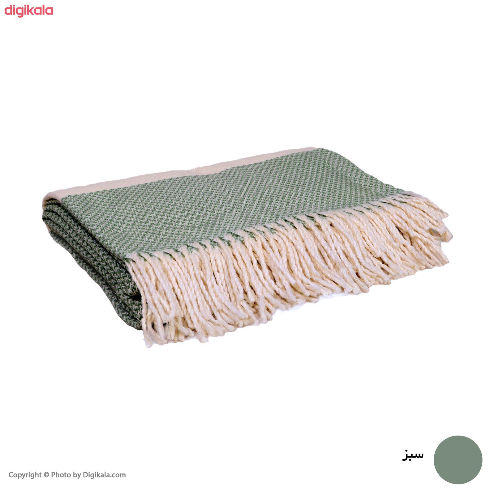 پتو مسافرتی سیمین مدل السا کد 002 سایز 220 × 150 سانتی متر main 1 4