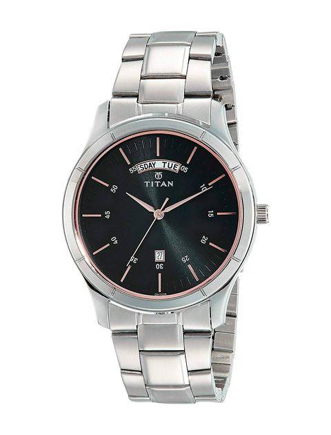 ساعت مچی عقربه ای مردانه تیتان مدل T1767SM02