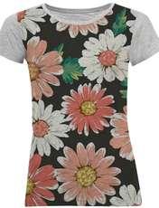 تی شرت آستین کوتاه زنانه کد M07 -  - 2