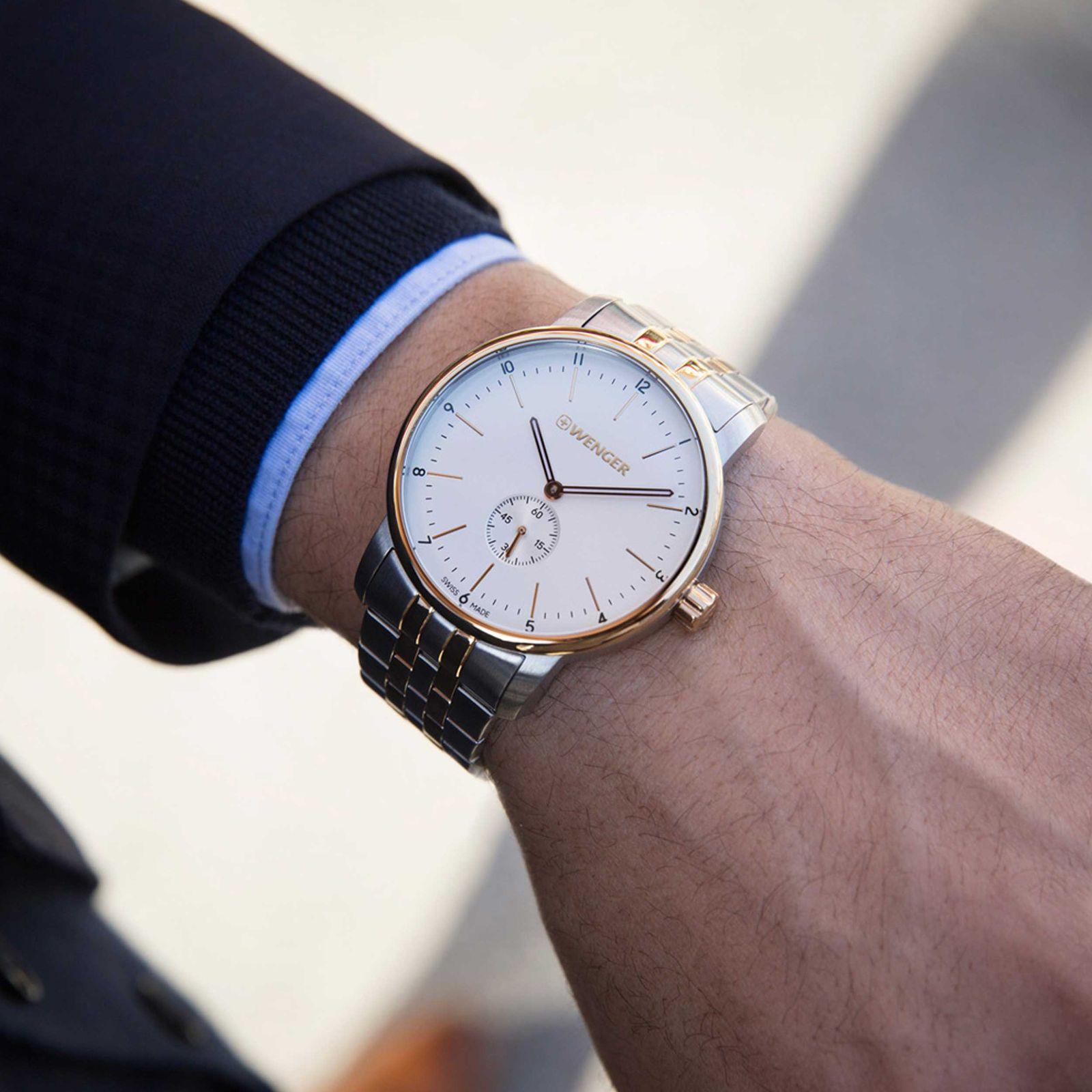 ساعت مچی عقربه ای مردانه ونگر مدل 01.1741.125 -  - 2
