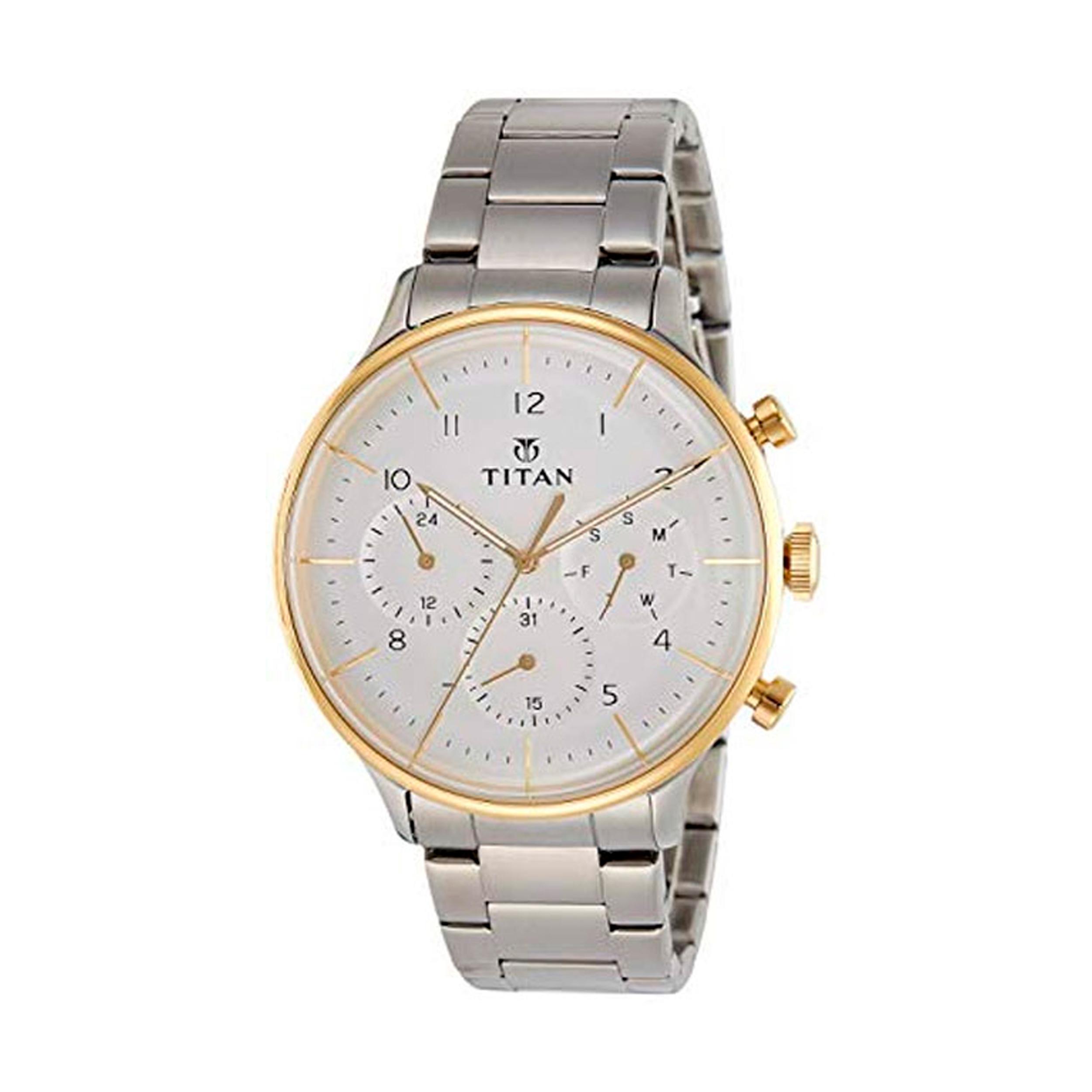 ساعت مچی عقربه ای مردانه تیتان مدل T90102BM01