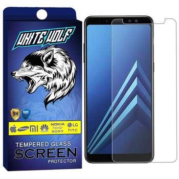 محافظ صفحه نمایش وایت ولف مدل WGS مناسب برای گوشی موبایل سامسونگ Galaxy A8 2018