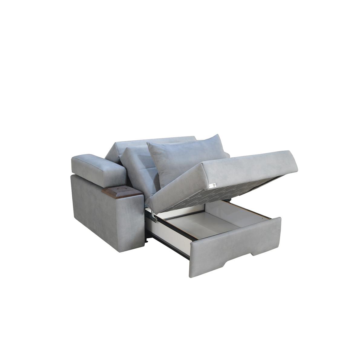 خرید                     مبل تخت خواب شو یک نفره آرا سوفا مدل V13MDI2