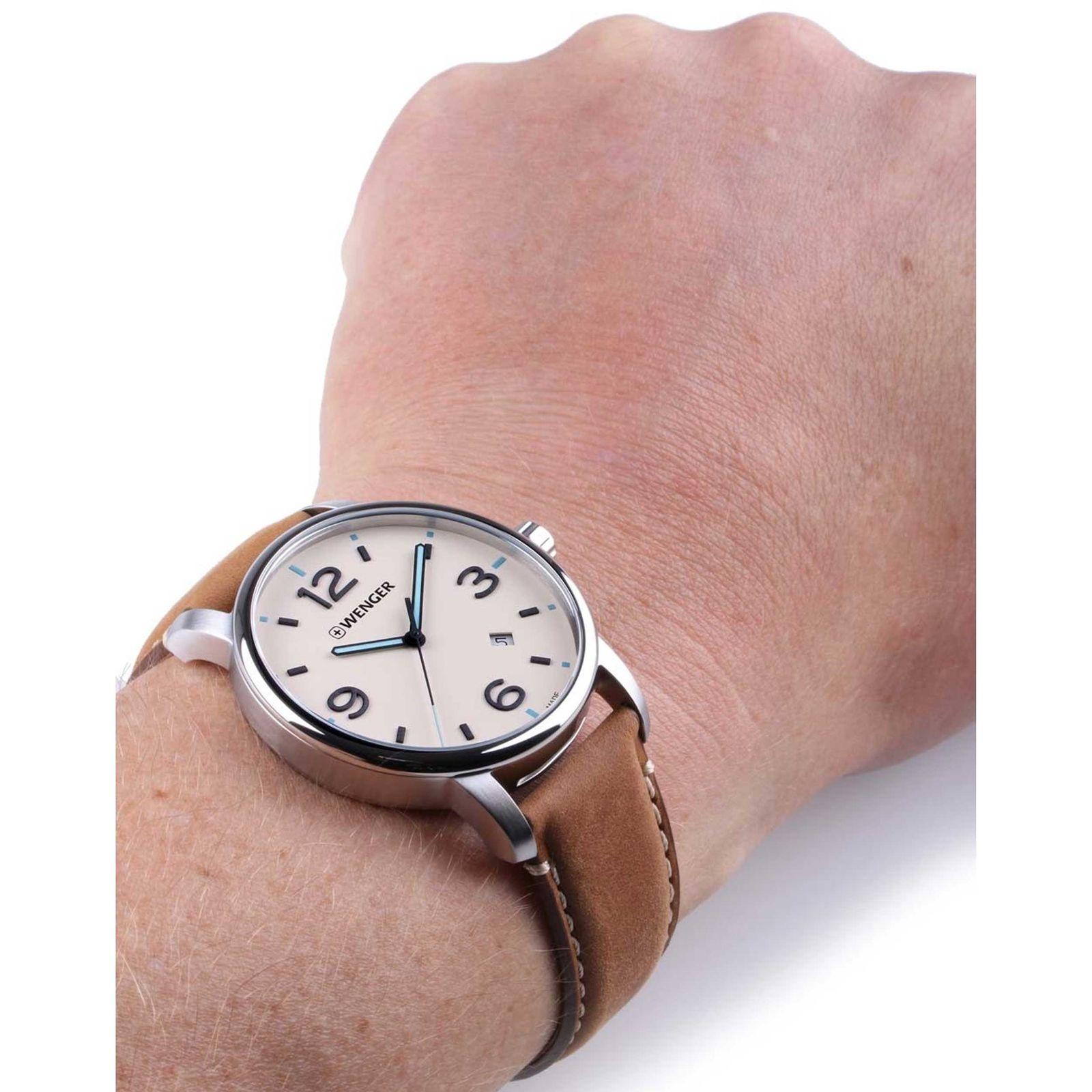 ساعت مچی عقربه ای مردانه ونگر مدل 01.1741.120 -  - 5