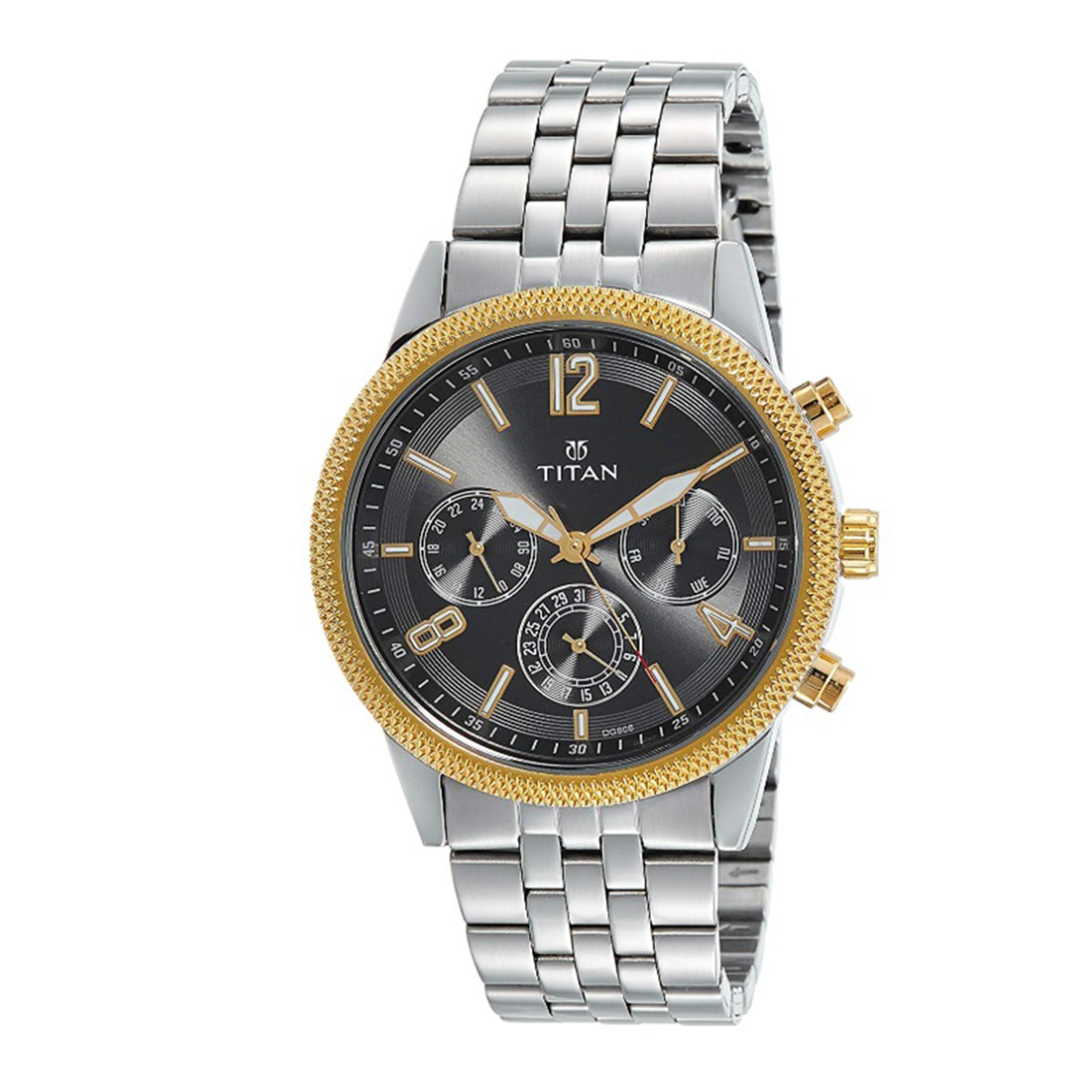 ساعت مچی عقربه ای مردانه تیتان مدل T1734BM01