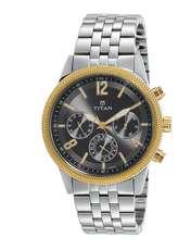 ساعت مچی عقربه ای مردانه تیتان مدل T1734BM01 -  - 1