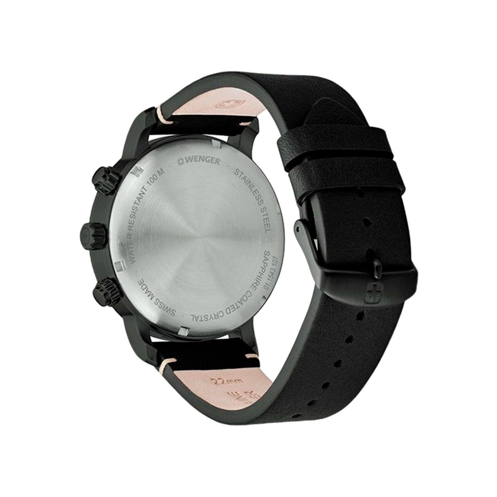 ساعت مچی عقربه ای مردانه ونگر مدل 01.1543.106 -  - 2