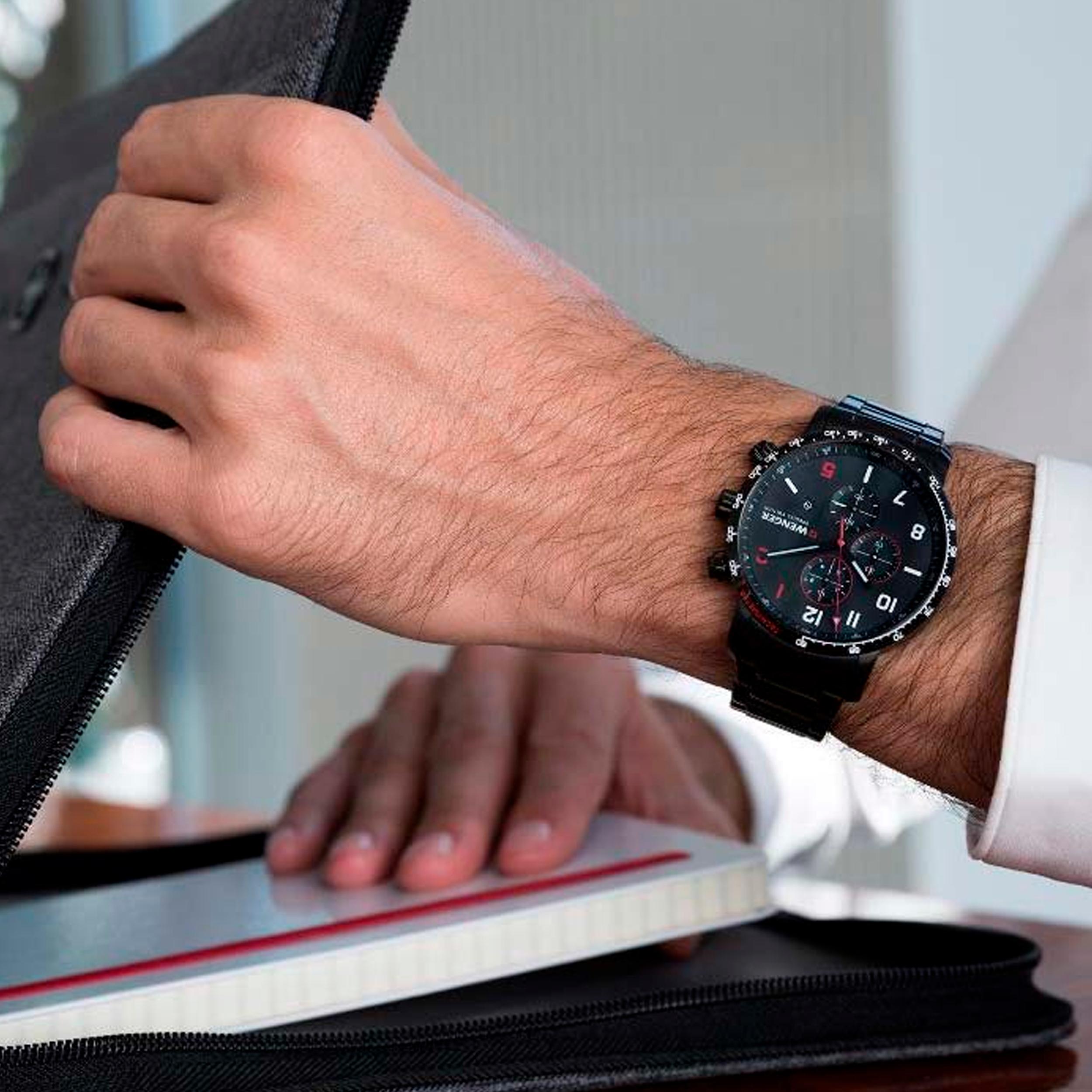 ساعت مچی عقربه ای مردانه ونگر مدل 01.1543.106 -  - 3
