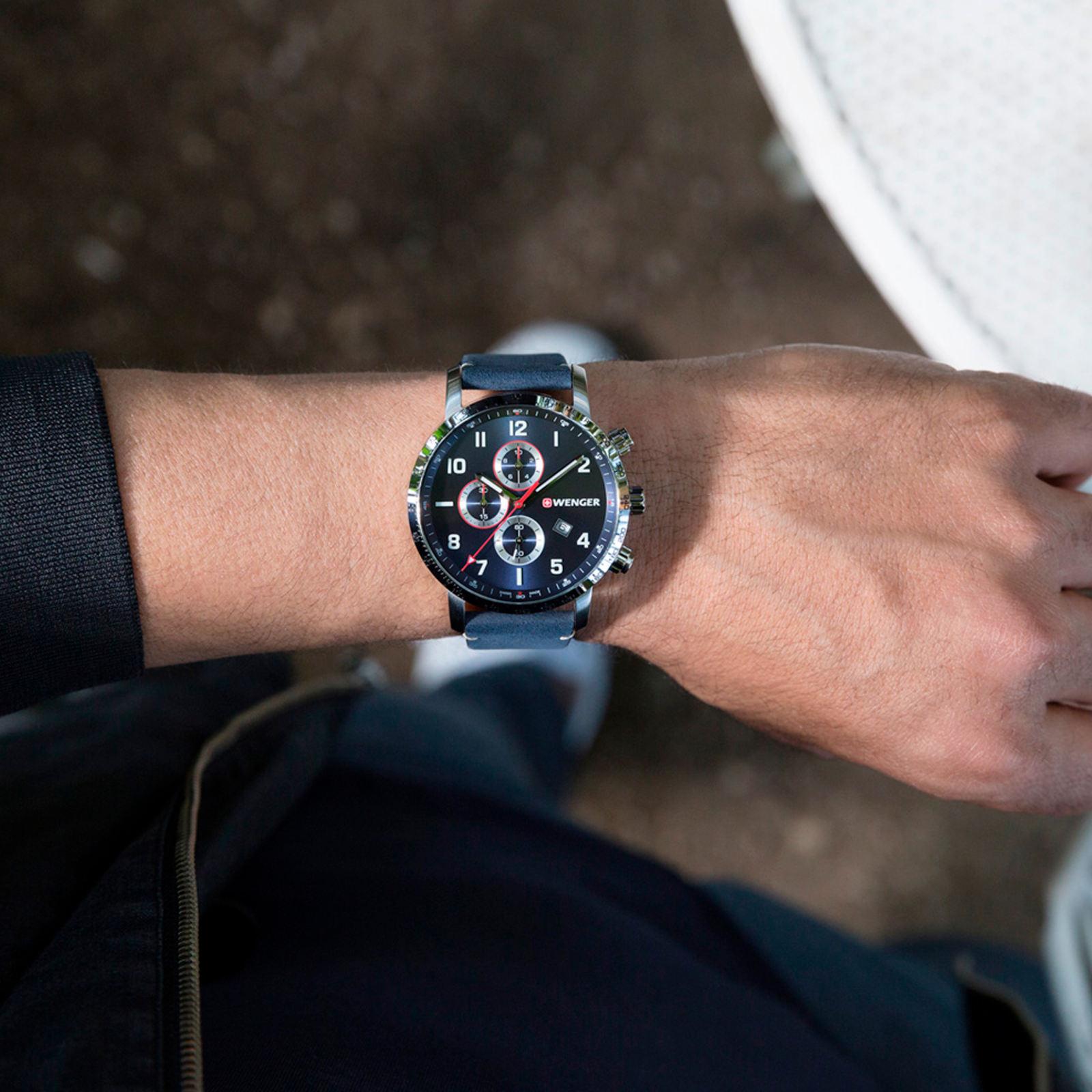ساعت مچی عقربه ای مردانه ونگر مدل 01.1543.109 -  - 5